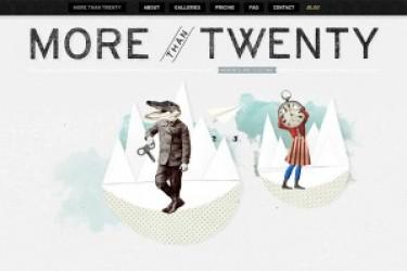 网站色彩搭配之《白色系列网页设计教程》