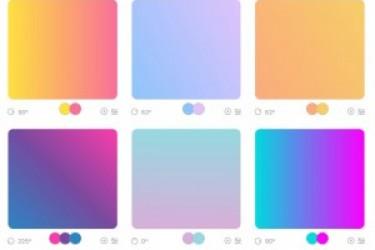 Get最新APP渐变色的神器来了,在线生成渐变色工具