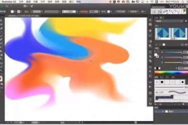 迷彩渐变的短视频制作教程,教你用PS和AI插件制作