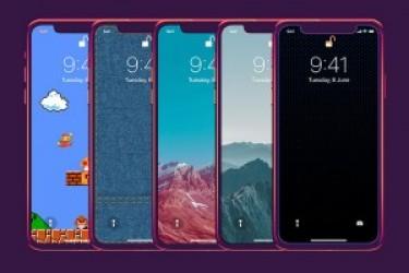 五款极具代表的iPhone X 壁纸背景素材包下载