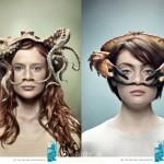 一组创意广告作品,创意源于生活