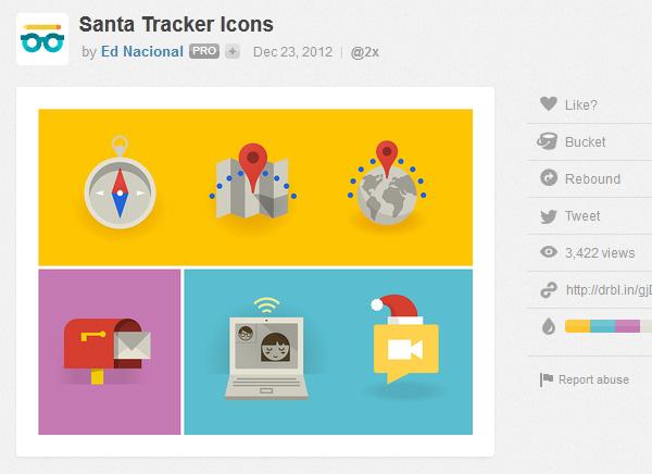 Santa-tracker-icons
