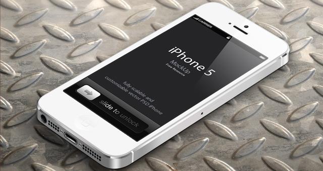 矢量形状的iphone