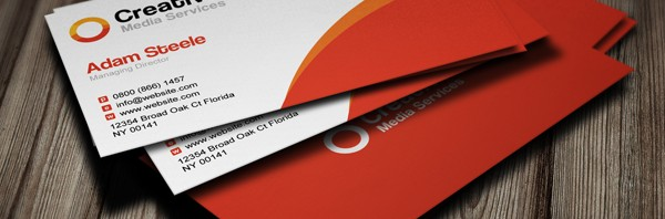 Creative-Media-Business-Cards-in-2-Colors