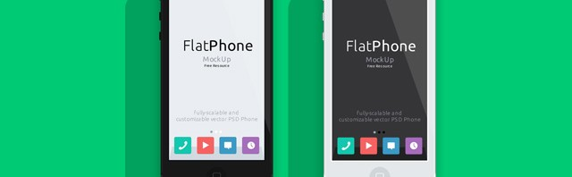001-iphone-mockup-flat-black-white-landscape-perspective-psd