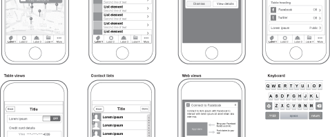 Iphone-wireframes-elements