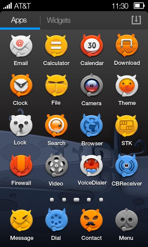 一组万圣节主题ui图标-手机app界面设计欣赏