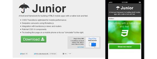 Front-end-Framework-for-Building-HTML5-Mobile-Apps-Junior