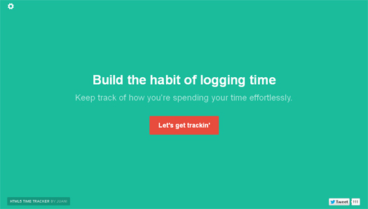 HTML5-Time-Tracker