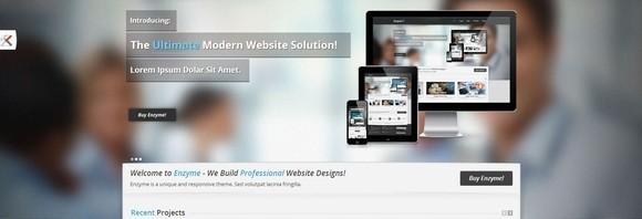HTML5网站网站模板