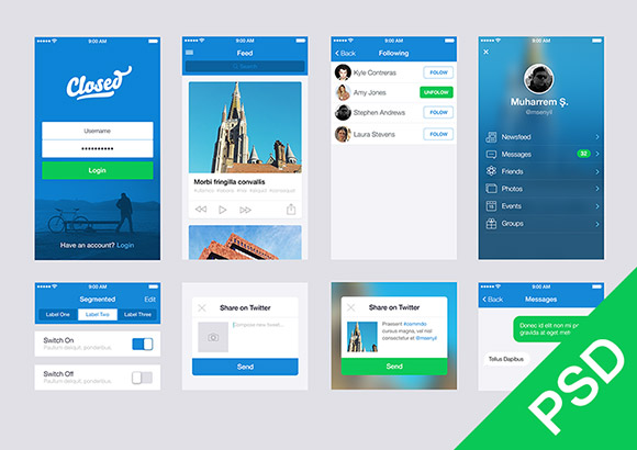 free-ui-apps-psd