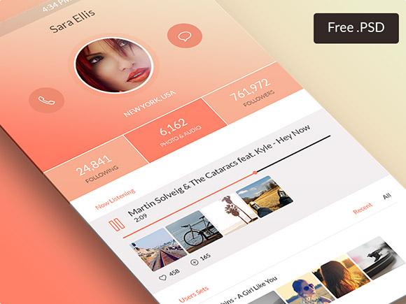 freebie-app-psd