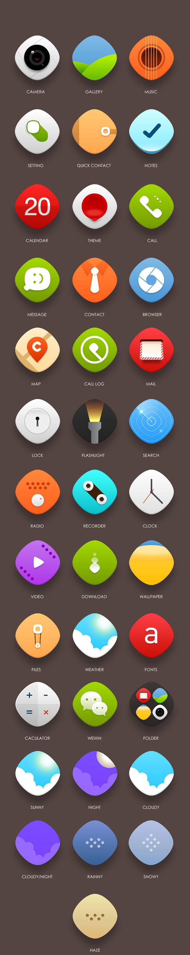 手机UI主题设计2