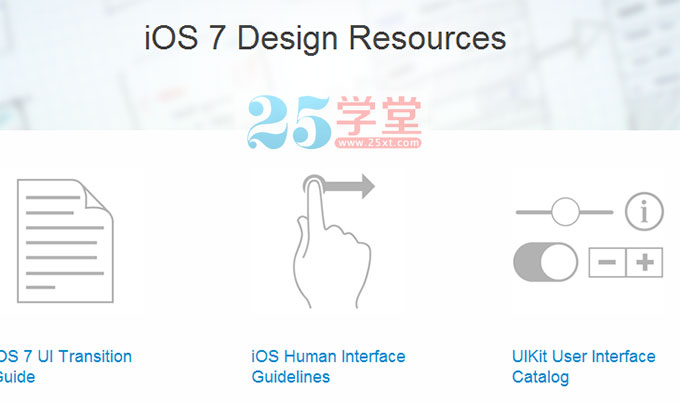 ios7官方设计规范