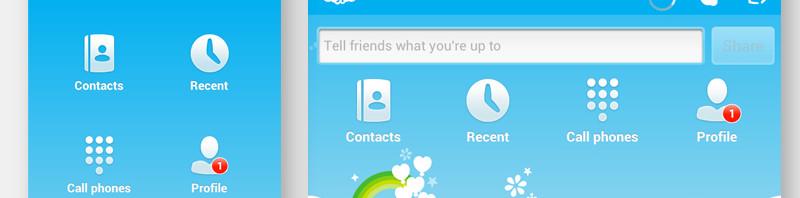 Skype app设计