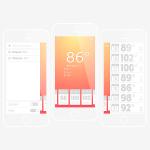 Illustrator实例教程:设计一个天气类的iOS APP