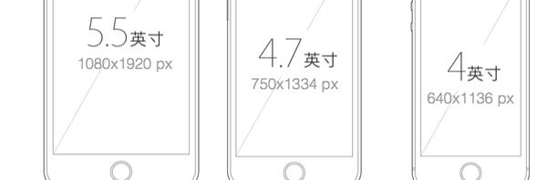 iphone APP界面设计适配