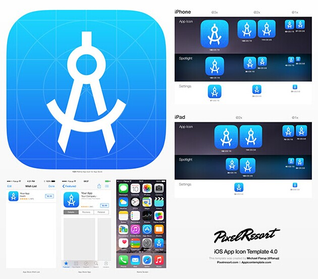 App Icon Template4.0
