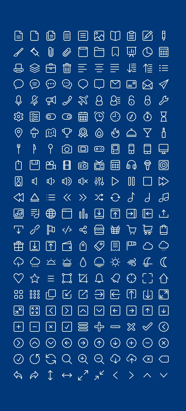 Free-PSD-Outline-Icons-220-Icons