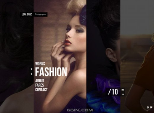 HTML5+CSS3视觉特效酷站2