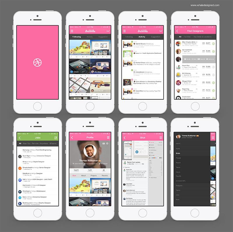 app界面设计欣赏2