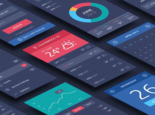 app立体透视模型