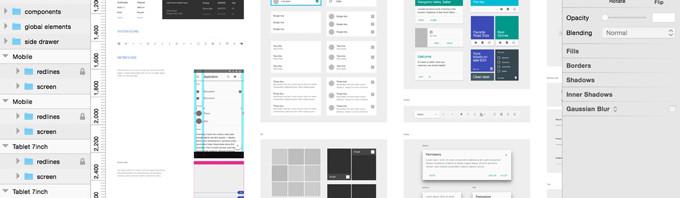 Sketch的Material-Design模板