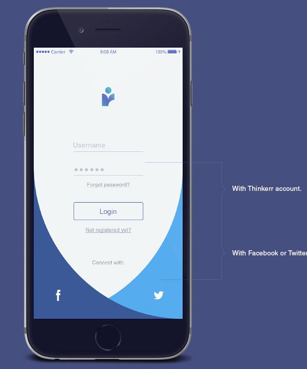 app设计模板