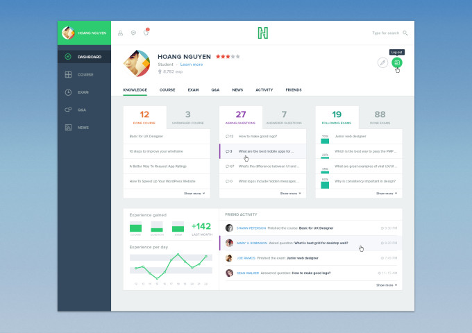 course-dashboard