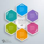 APP设计之六边形设计元素的APP图标界面欣赏