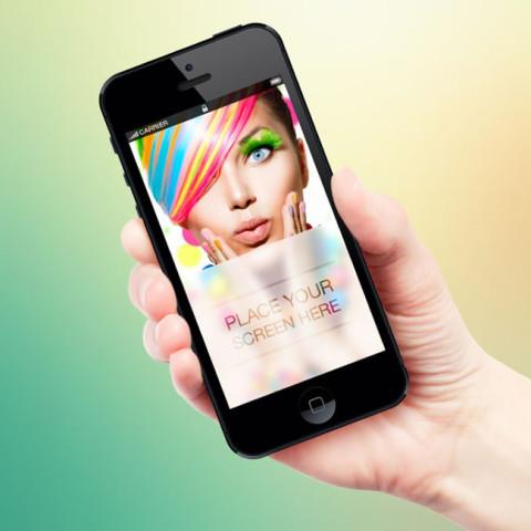 iPhone手机界面模板