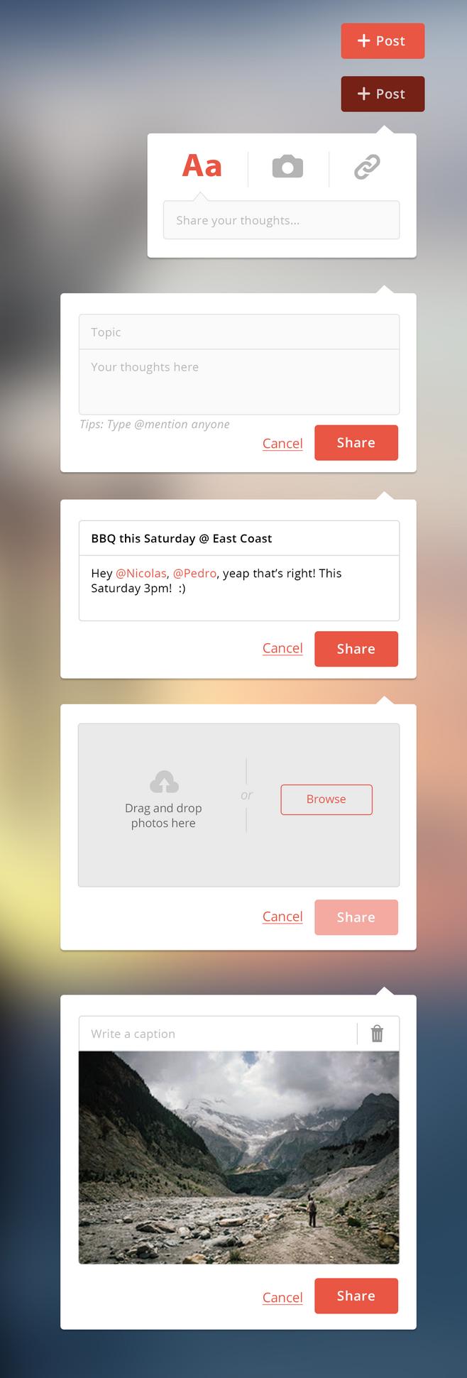 app表单设计