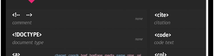 html5cheatsheet