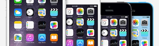iPhone-4-5-6屏幕尺寸大小