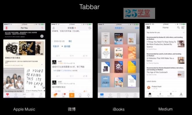 tabbar-工具设计