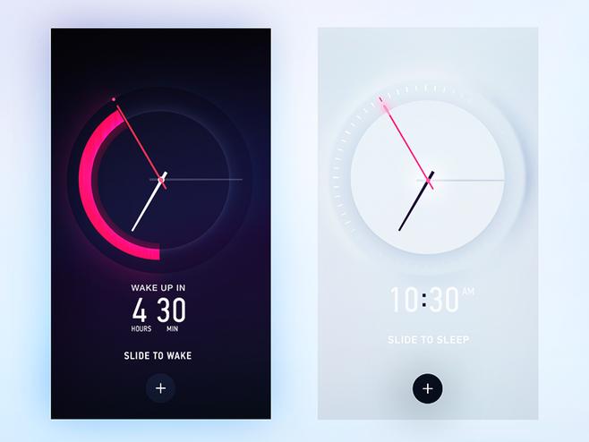 时钟界面设计