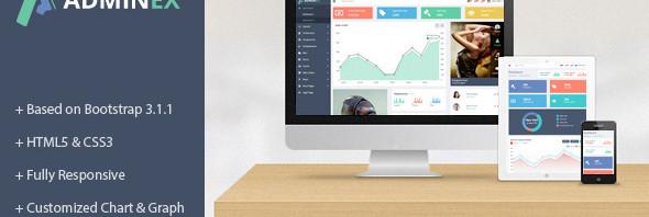 AdminEx-Bootstrap模板