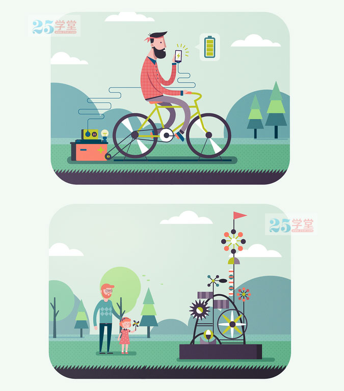 illustrationserved