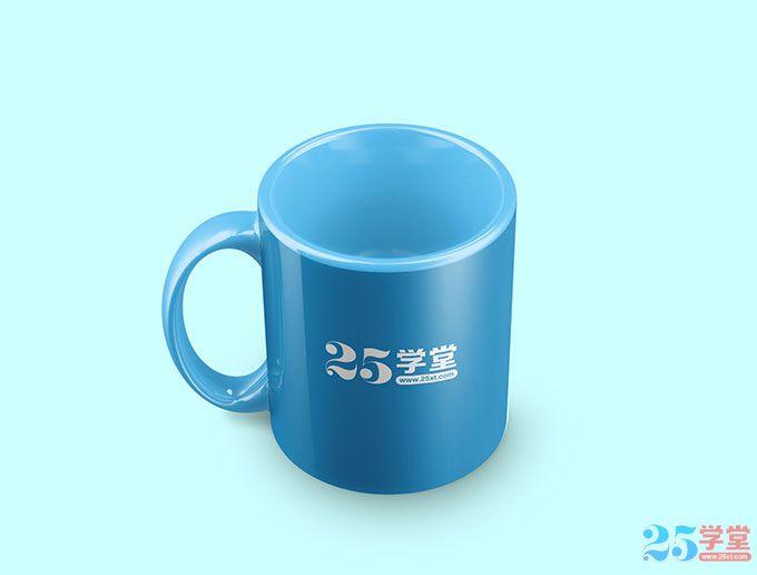 咖啡杯模型PSD素材