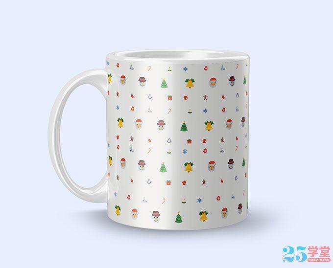 圣诞咖啡杯