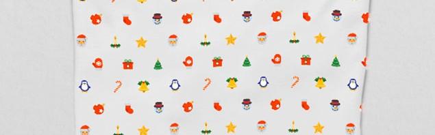圣诞节风格T桖