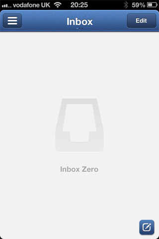 APP邮箱空状态设计