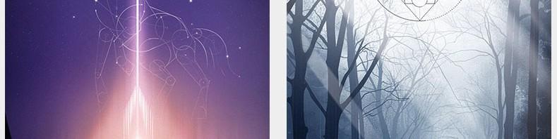 十二星座的闪屏主题设计2