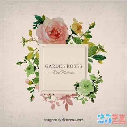 高质精美花朵设计素材2