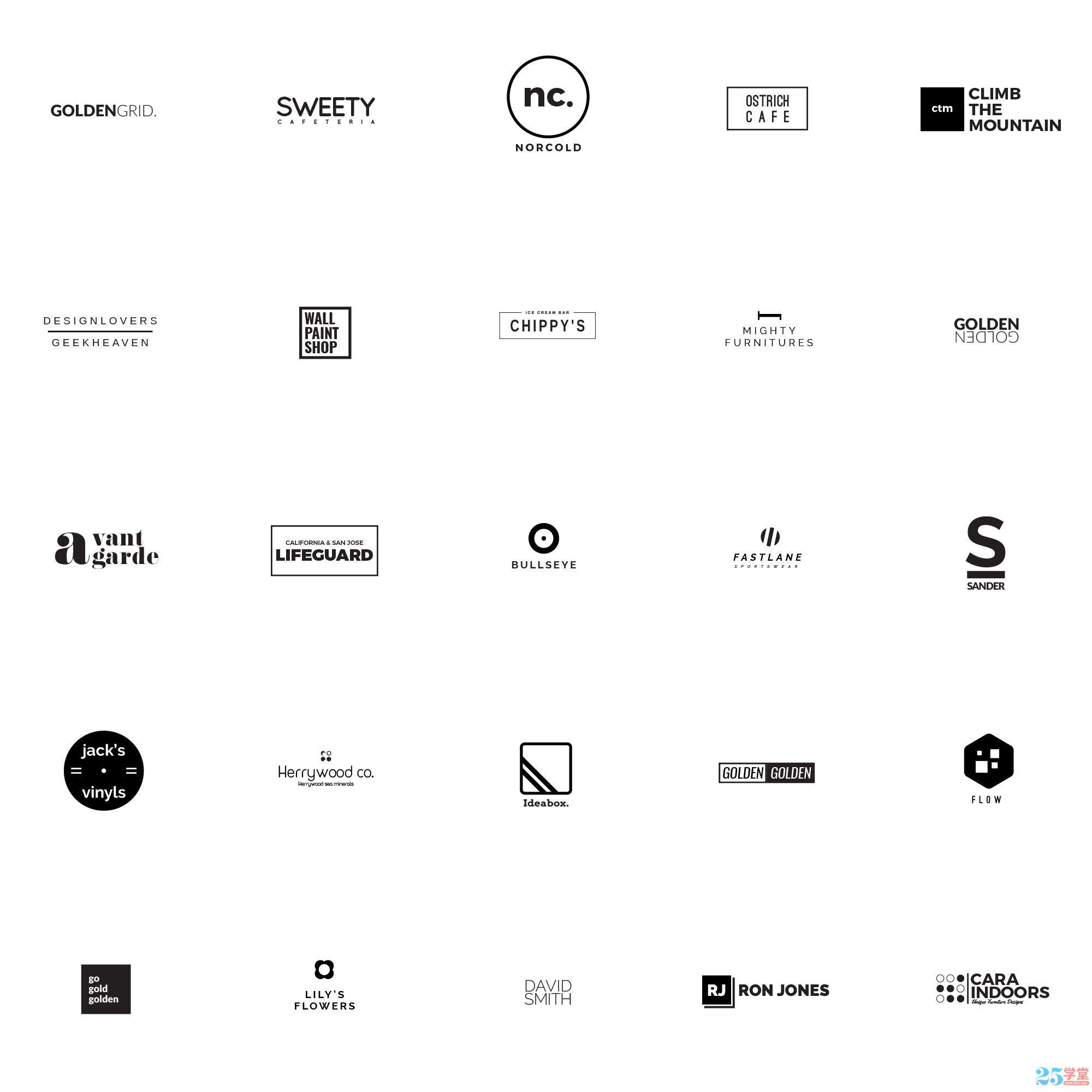 25_Free_Minimalistic_Logo_Templates