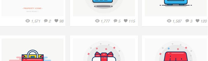 app独特风格的图标设计