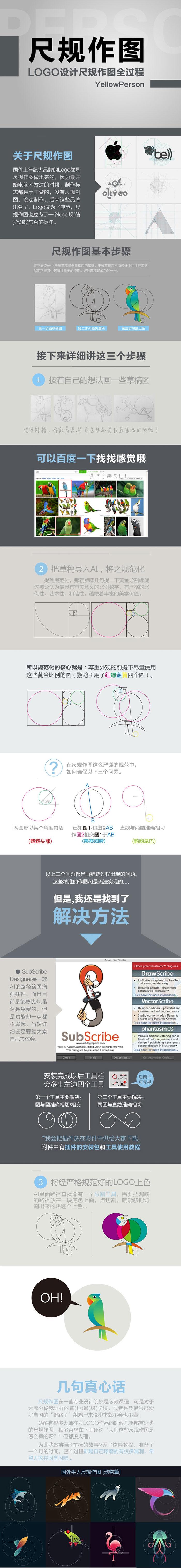 logo设计之尺规作图