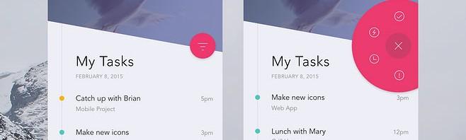 app时间轴的界面设计欣赏