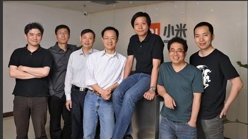 小米的创业团队