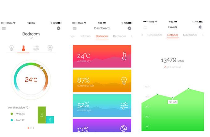 健康数据类的APP界面设计